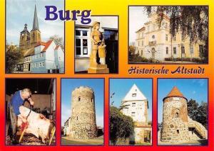 Burg Sachsen-Anhalt, Kirche Unser Lieben Frauen, Rathaus, Kuhturm, Hexenturm
