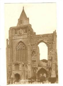 RP, Croyland Abbey, West Front, Lincolnshire, England, UK, 1920-1940s