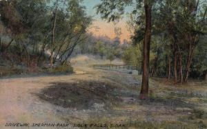 SIOUX FALLS, South Dakota, PU-1912; Driveway, Sherman Park