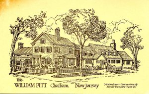 NJ - Chatham. The William Pitt Inn