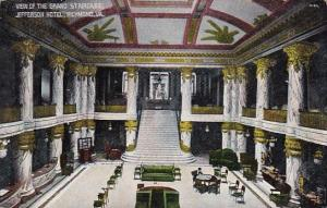 Virginia Richond View Of The Grand Staircase Jefferson Hotel