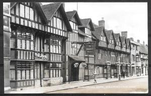 England, Strafford-Upon-Avon, Shakespeare Hotel, Real Photo PC, unused