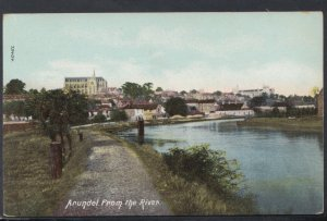 Sussex Postcard - Arundel From The River  DC2388
