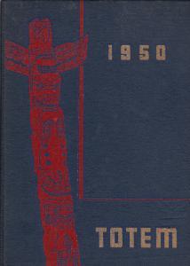 U.B.C. Yearbook 1950 , Vancouver , B.C.