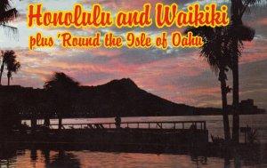 Honolulu and Waikiki , Hawaii , 50-60s