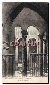 Old Postcard Cathedrale Saint Sauveur Baptistry (ancient Temple of Apollo) Ai...