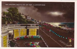 RP; Colored, The Shelter, Westcliff-On-Sea Illuminations, Essex, England, Uni...