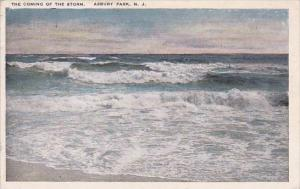 The Coming Of The Storm Asbury Park New Jersey 1921
