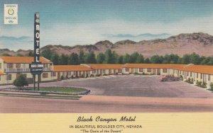 BOULDER CITY, Black Canyon Motel, Nevada, 30-40s