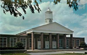 Shippenburg PA~State College~Kriner Hall~Open Belfry & Nice Clocktower 1958 Kuhn