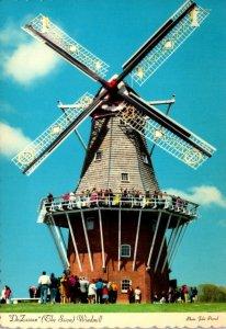 Michigan Holland Windmill Island De Zwaan The Swan Windmill