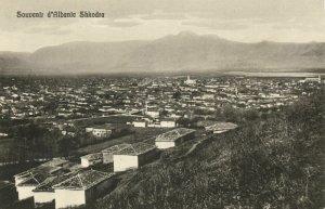albania, SHKODRA SHKODER SCUTARI, Panorama (1910s) Postcard