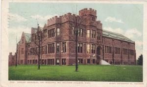 Dwight Memorial,  Art Building,  Mt. Holyoke College,   Massachusetts,  PU-1905