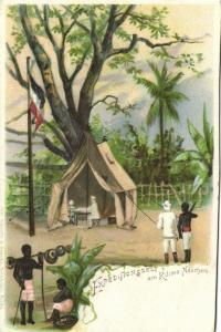 German East Africa, Tanzania, Mount Kilimanjaro, Expedition Tent (1899)