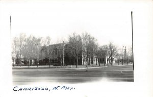 LPSS03 Carrizozo New Mexico Lincoln County Court House Postcard RPPC