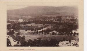 Scotland Blair Castle From Tulloch Hill