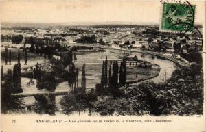 CPA ANGOULEME - Vue générale de la Vallée de la CHARENTE vers Lhoumeau (654450)