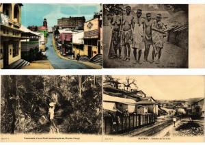 BELGIAN CONGO AFRICA 48 CPA AFRIQUE Vintage Postcards pre-1940 PART II.
