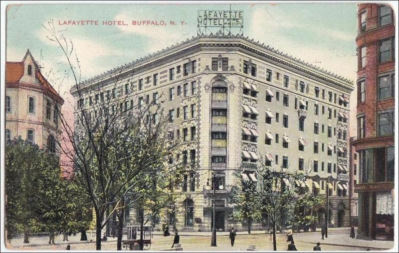 Lafayette Hotel, Buffalo NY