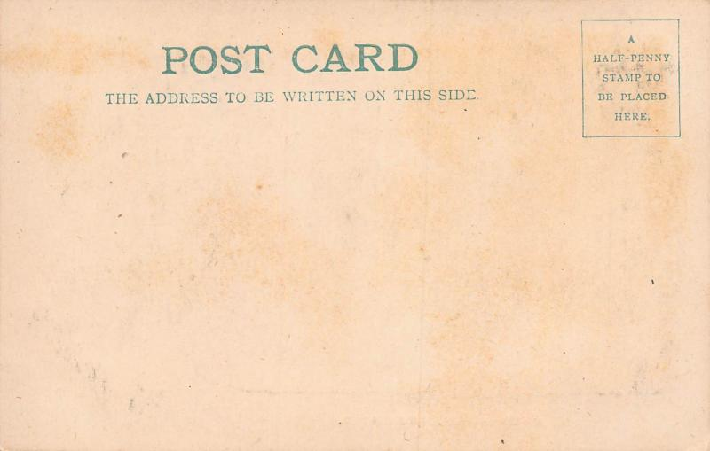 Satis House, Rochester, England, 1904 Postcard, with message