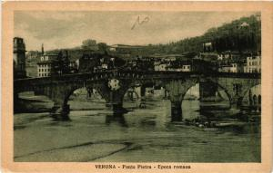 CPA VERONA Ponte Pietra, Epoca romana . ITALY (493838)