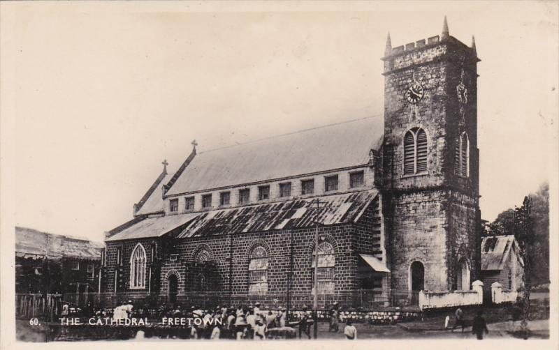 RP, The Cathedral, FREETOWN, Sierra Leone, Africa, 1920-1940s