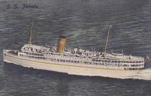 P and O Steamship Co S S Florida Nassau Cruise