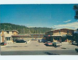 Pre-1980 MOTEL SCENE Jasper Alberta AB hk1657