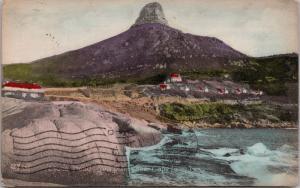 Lions Head Sea Point (near Cape Town) South Africa c1907 Postcard E32
