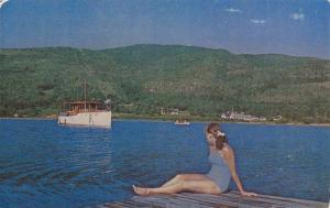 View of Mont Tremblant,  La Province de  Quebec,  Canada,  40-60s