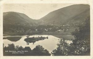 Grasmere England~Red Bank~Real Photo Abraham's Series~Three Halfpence Stamp~1920