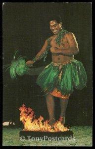 Samoan Fire Dancer - Polynesian Cultural Center