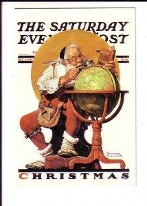 Norman Rockwell Santa, Saturday Evening Post