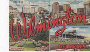 WILMINGTON, Delaware, PU-1949; Nemours Building, Rodney Square, Brandywine Park