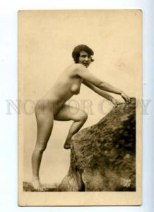177932 NUDE Belle Woman Beach Vintage MANDEL AN PHOTO #386