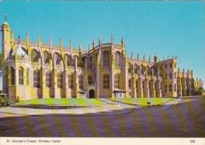 England Windsor Castle St George's Chapel