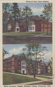 Michigan Kalamazoo Walwood Hall Union Building Mens Dormitory Western Michiga...