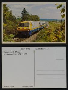 VIA Canada LRC train 1970s