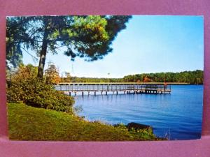 Postcard NC Camp Lejeune Wallace Creek