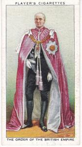 Cigarette Cards Players Coronation Series Ceremonial Dress No 29