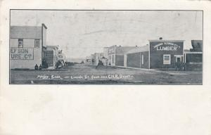 HANLEY , Saskatchewan, Canada, 1901-07 ; Lincoln Street