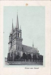 St. Martinskirche, Gruss Aus Cassel , Germany, 1900-1910s