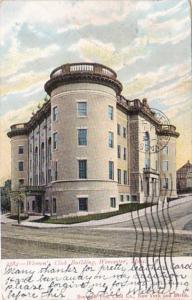 Massachusetts Worcester Women's Club Building 1906