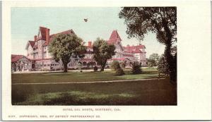 Postcard CA Monterey Hotel Del Monte 1899 Detroit Photographic Co. PMC K134