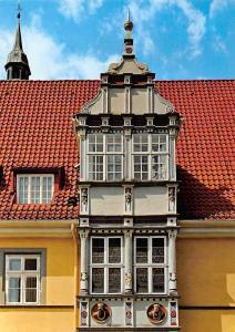 Celle Renaissance-Erker am Rathaus Town hall Front view