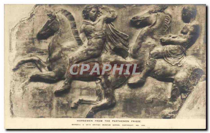 Postcard From The Old Horsemen Parthenon Frieze British museum