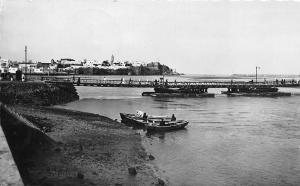 Morocco Rabat - Pointe des Oudayas et Pont sur le Bou Regreg 1950
