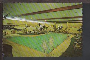 Swimming Pool Sundial Center Sun City AZ Postcard BIN