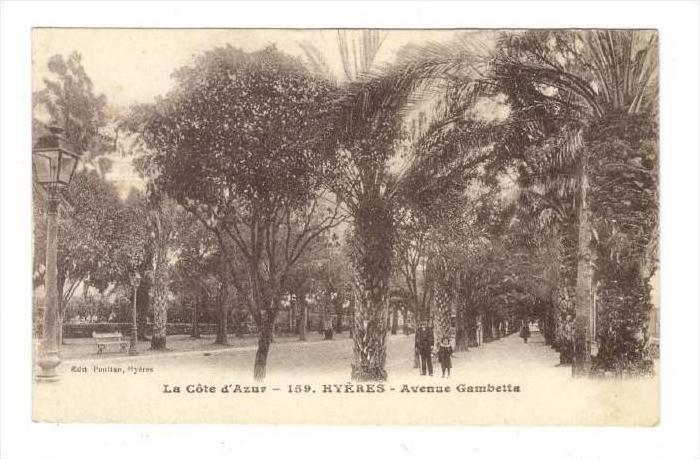 Hyères , France , 00-10s   Avenue Gambetta