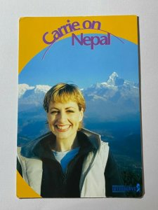 POSTED POSTCARD - CARRIE ON NEPAL INTERSERVE ADVERTISING (KK2283)